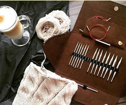ADDI CLICK LACE - немецкий набор спиц для вязания